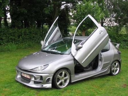 johan s peugeot 206 customer rides avb sports car. Black Bedroom Furniture Sets. Home Design Ideas