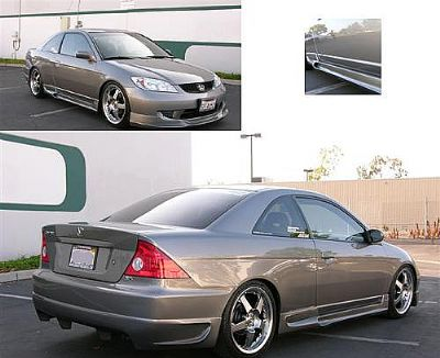 Bodykit For Honda Civic 2004 2005 Avb Sports Car