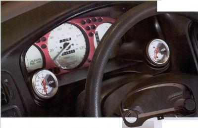 Gauge Bezel For Honda Civic 1999 2000 Avb Sports Car Tuning Spare Parts