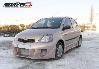 Frontbumper For Toyota Yaris 1999 2005 Avb Sports