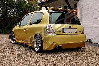 Rearbumper For Renault Clio 1998 2001 Avb Sports Car