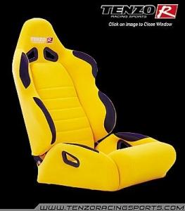 Tenzo Car Seats
