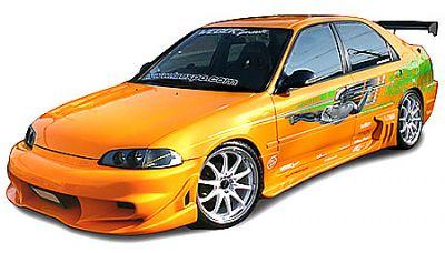 Bodykit 4d for Honda Civic (1992 - 1995) › AVB Sports car tuning & spare parts