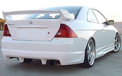 Rearlip For Honda Civic 2001 2003 Avb Sports Car