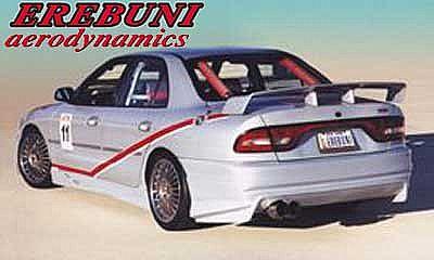 rearbumper for mitsubishi galant 1994 1996 avb. Black Bedroom Furniture Sets. Home Design Ideas