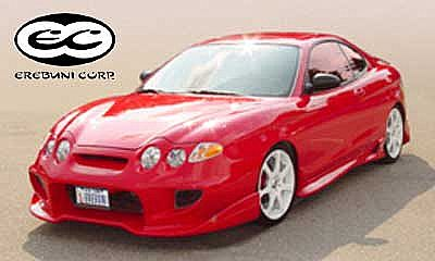 Sideskirts for Hyundai Coupe (2000 - 2002) › AVB Sports car tuning & spare parts