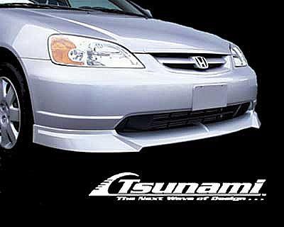 Honda Civic 2001 Coupe Tuning Interior >> Frontlip for Honda Civic (2001 - 2003) › AVB Sports car tuning & spare parts