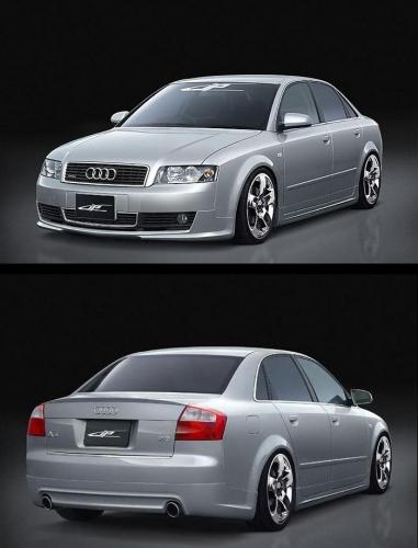 Toyota Body Parts >> Bodykit for Audi A4 (2001 - 2004) › AVB Sports car tuning ...