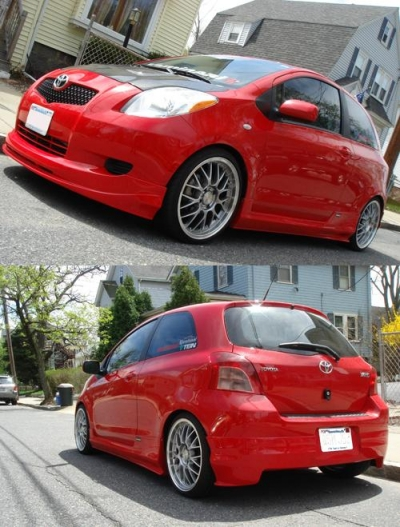Bodykit For Toyota Yaris 2006 2008 Avb Sports Car
