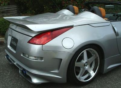 Rear Wing For Nissan 350z 2003 2005 Avb Sports Car