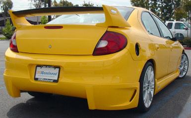Rear Apron For Chrysler Neon 2000 2002 Avb Sports