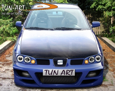 frontbumper for seat ibiza 2000 2002 avb sports car tuning spare parts. Black Bedroom Furniture Sets. Home Design Ideas