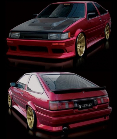 Bodykit for Toyota Corolla (1984 - 1987) › AVB Sports car ...