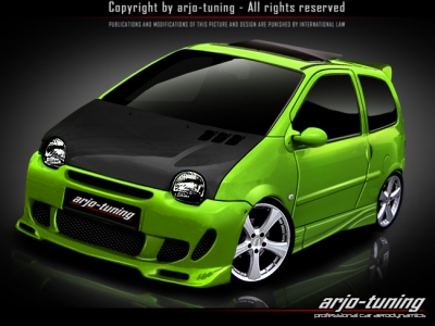 Frontbumper for Renault Twingo (1992 - 2006) › AVB Sports car tuning & spare parts