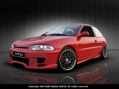 Sideskirts For Mitsubishi Colt 1992 1995 Avb Sports