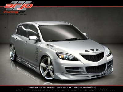 Mazda on Arjo Frontbumper Hb For Mazda Mazda 3  2004   2009      Avb Sports Car