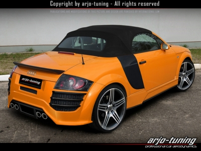 Rearbumper For Audi Tt 1998 2005 Avb Sports Car