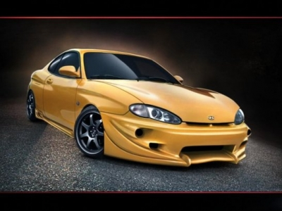 Frontbumper For Hyundai Coupe 1997 1999 Avb Sports