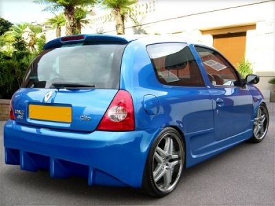 Rearbumper For Renault Clio 2002 2004 Avb Sports Car