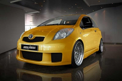 Frontbumper For Toyota Yaris 2006 2008 Avb Sports