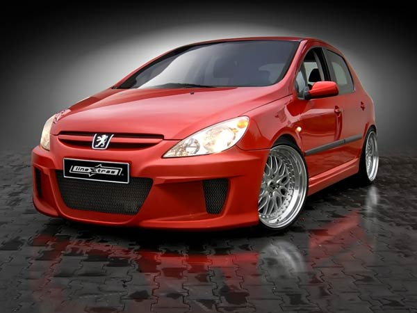 bodykit for peugeot 307 2002 2007 avb sports car. Black Bedroom Furniture Sets. Home Design Ideas