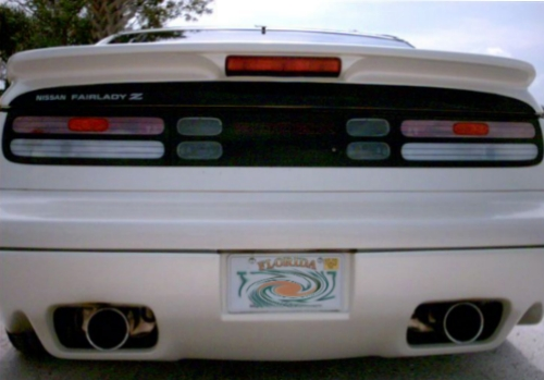 Rear wing for Nissan 300zx (1990 - 1996) › AVB Sports car tuning & spare  parts