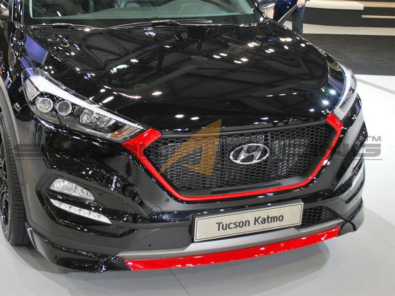 Grill for Hyundai Tucson iX35 (2016 -) › AVB Sports car ...