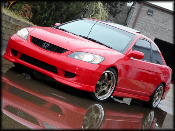 Mazda Of Orange >> Frontlip for Honda Civic (2004 - 2005) › AVB Sports car ...
