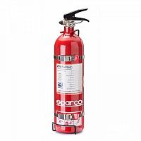 NEW: Sparco Fire extinguisher