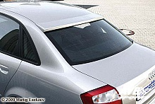 Rear window visor