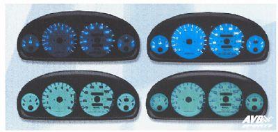 Gauge face for honda civic 1996 1998 avb sports car tuning spare parts for 1998 honda civic interior parts