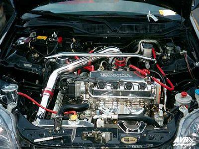 on 1999 Honda Civic Air Intake