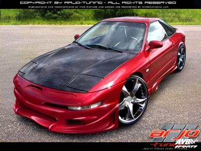 frontbumper for ford probe 1993 1997 avb sports car. Black Bedroom Furniture Sets. Home Design Ideas
