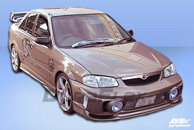 frontbumper for mazda 323f (bj 1999 - 2003) › avb sports car tuning
