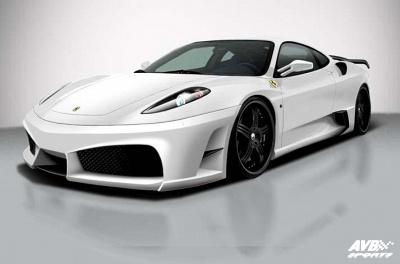 Bodykit For Ferrari F430 2004 2010 Avb Sports Car Tuning Spare Parts