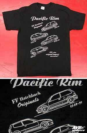 T Shirt For Honda Civic 1992 1995 Avb Sports Car Tuning