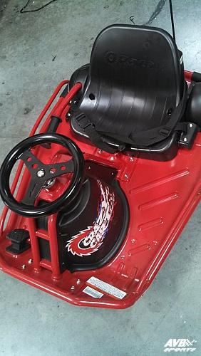 Razor Crazy Cart Avb Sports Car Tuning Spare Parts