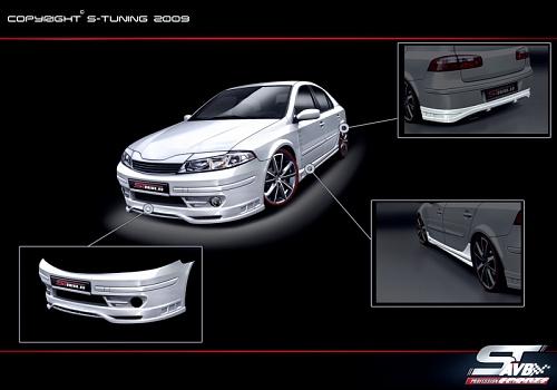 bodykit for renault laguna 2001 2005 avb sports car. Black Bedroom Furniture Sets. Home Design Ideas
