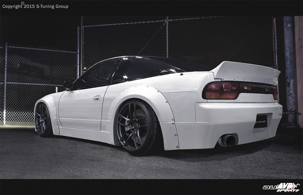 Bodykit for Nissan 180sx/200sx/240sx (1989 - 1994) › AVB Sports car tuning & spare parts